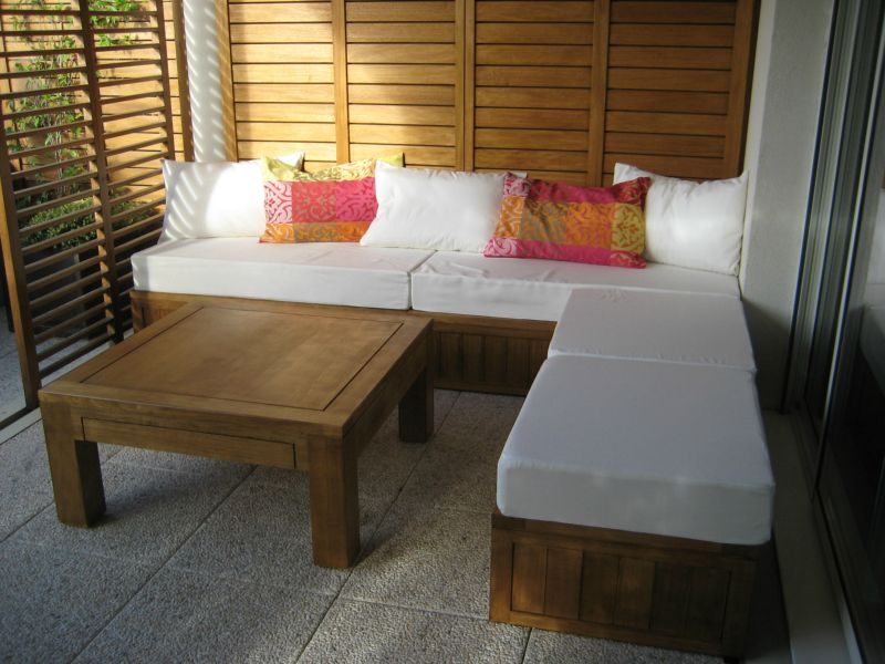 Planche de bois sur mesure for Table exterieur osb